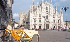 Μιλάνο: Πληρώνουν τους πολίτες για να χρησιμοποιούν ποδήλατα