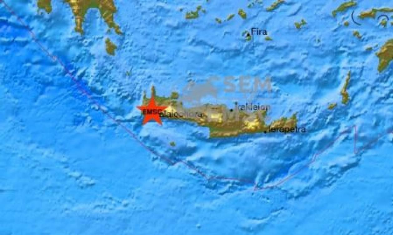 Νέος ισχυρός σεισμός αναστάτωσε την Κρήτη - 4,7 Ρίχτερ ξεσήκωσαν το νομό