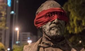Τα αγάλματα στη Βραζιλία έχουν μάτια ερμητικά κλειστά (vid)
