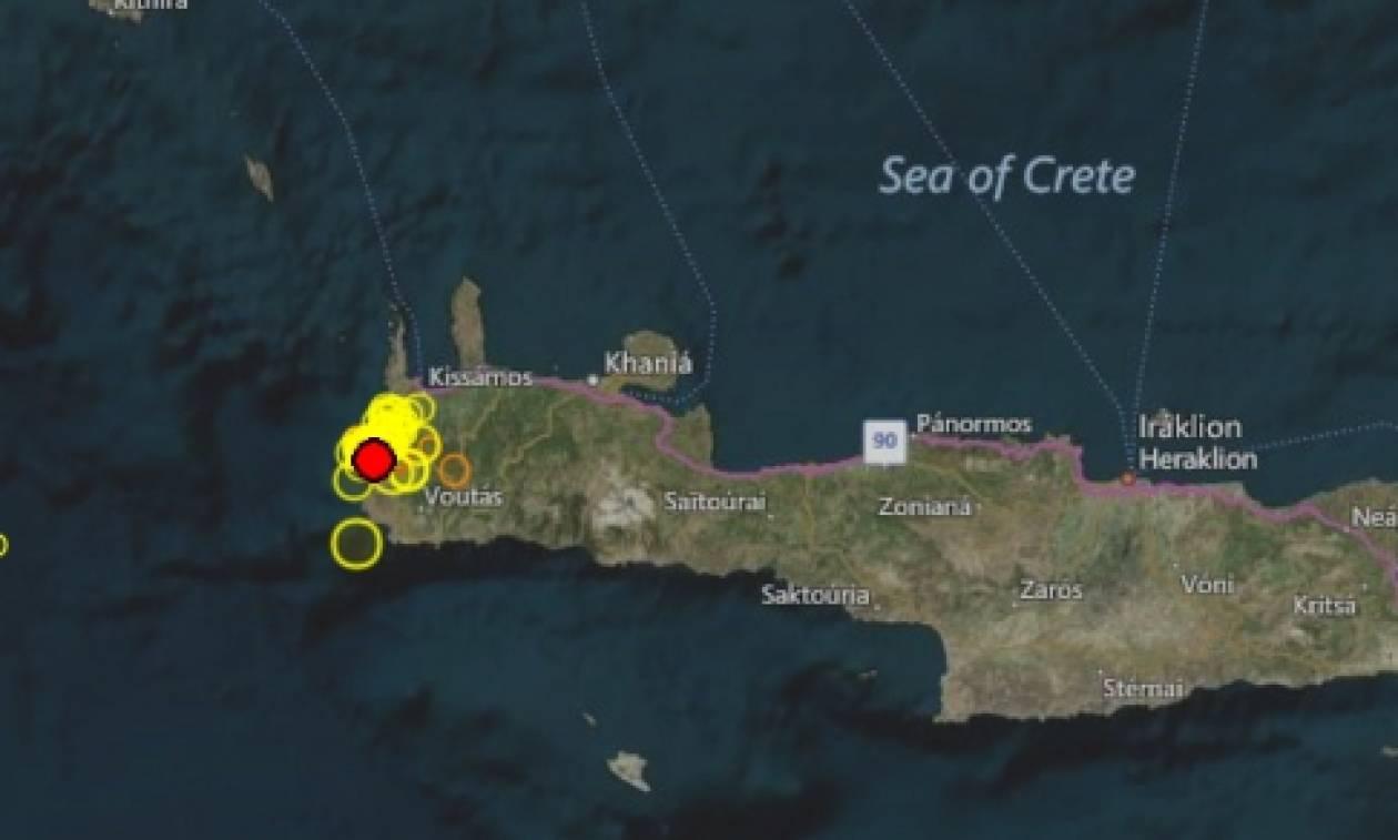 ΤΩΡΑ: Σεισμός στην Κρήτη