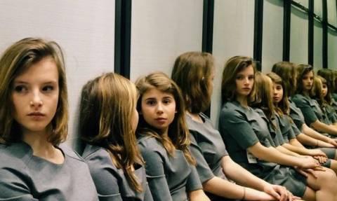 Η φωτογραφία που έχει «τρελάνει» το διαδίκτυο: Εσείς πόσα κορίτσια βλέπετε;