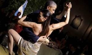 Αργεντινή: Ο Μπαράκ Ομπάμα σε ρόλο δεινού χορευτή τάνγκο! (vid)