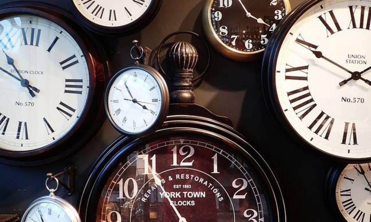 Αλλαγή ώρας 2016: Απόψε γυρίζουμε τα ρολόγια μας μία ώρα μπροστά!