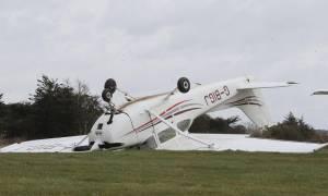 Χάος στα βρετανικά αεροδρόμια λόγω της καταιγίδας Κέιτι (photos)