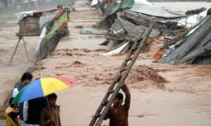 Πακιστάν: Τουλάχιστον 61 νεκροί από τις φονικές πλημμύρες - Χιλιάδες εγκλωβισμένοι