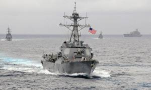 Το ναυτικό των ΗΠΑ κατάσχεσε όπλα από το Ιράν προς τους Χούτι στην Υεμένη