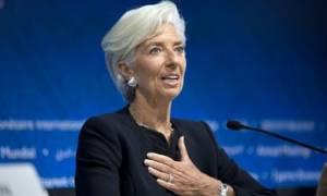 Λαγκάρντ: Το ΔΝΤ διαπραγματεύεται με την Ελλάδα καλή τη πίστει