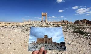 Εικόνες καταστροφής: Πώς κατάντησαν οι τζιχαντιστές την ιστορική Παλμύρα