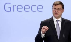 Ντομπρόβσκις: Η Ελλάδα ήταν πολύ κοντά στο να βγει από το Μνημόνιο το 2014