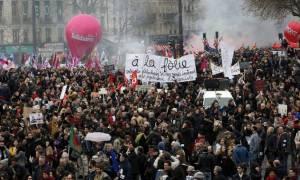 Γαλλία: Μαζικές κινητοποιήσεις ενάντια στα νέα εργασιακά μέτρα (pic+vid)