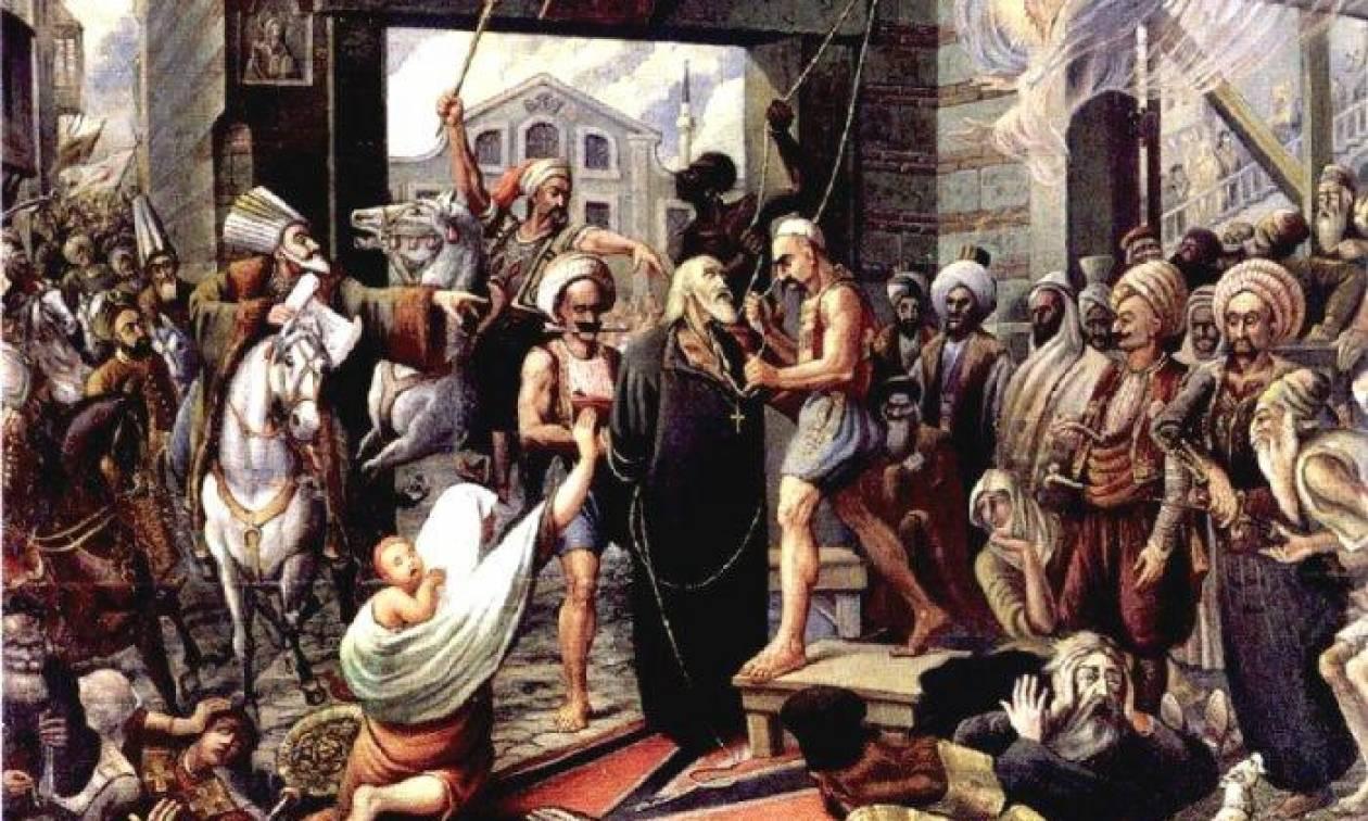 Σαν σήμερα οι Τούρκοι απαγχονίζουν τον πατριάρχη Γρηγόριο Ε΄ σε αντίποινα της Ελληνικής Επανάστασης