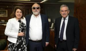 Το προσφυγικό στο επίκεντρο της συνάντησης του Κουρουμπλή με την Πορτογαλίδα ομόλογό του