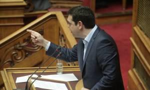 Βουλή - Δευτερολογία Τσίπρα: Δεν θα μπεί τρία μέτρα κάτω από τη γη η Siemens και η λίστα Λαγκάρντ