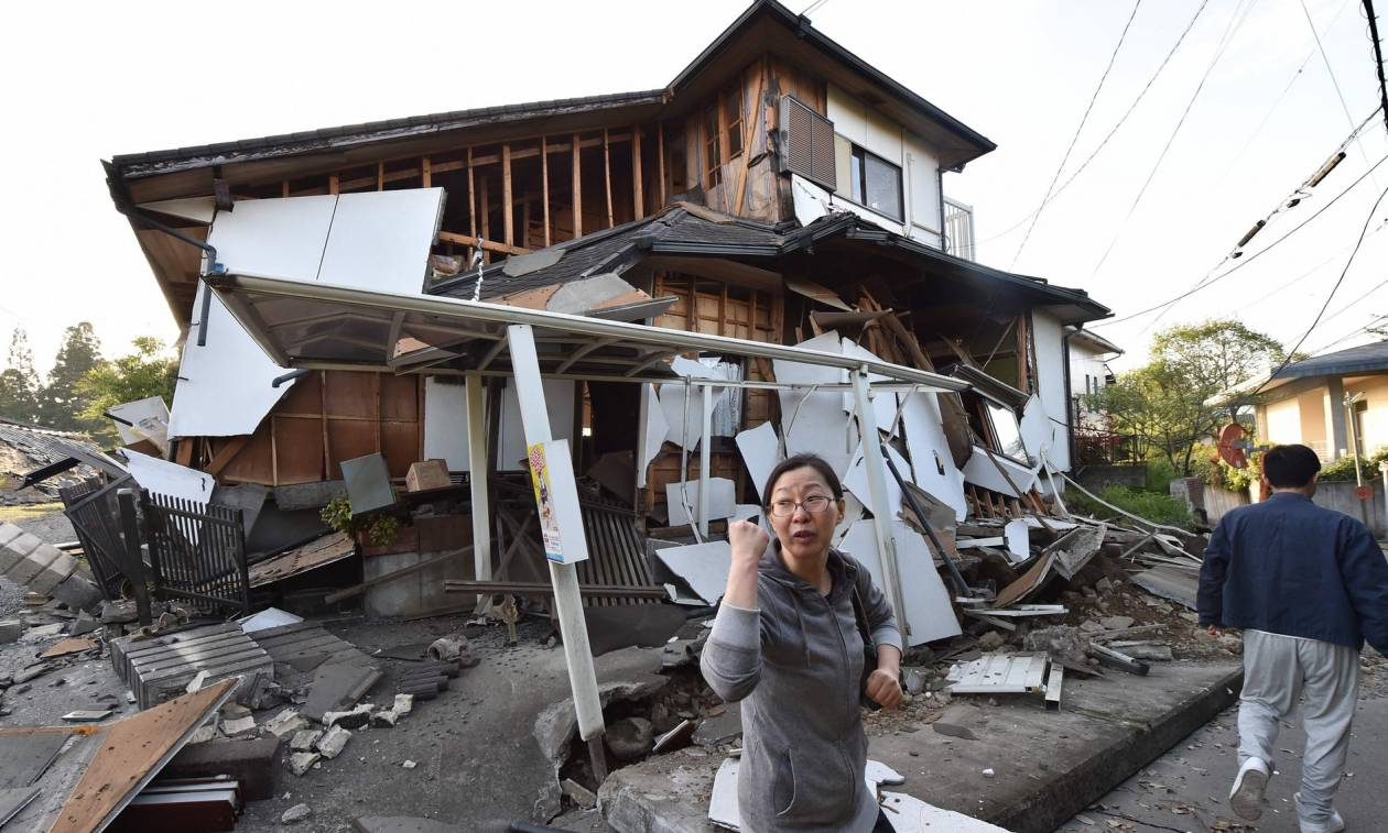 Νύχτα τρόμου και αγωνίας στην Ιαπωνία από το σεισμό 7,3 Ρίχτερ