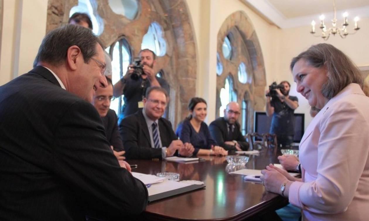 На Кипр с визитом прибыла помощник госсекретаря США по делам Европы и Евразии Виктория Нуланд
