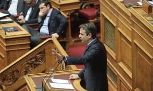 Βουλή - Μητσοτάκης προς Τσίπρα: Ζείτε στον δικό σας ψεύτικο κόσμο