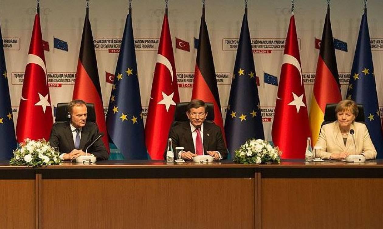 Η Μέρκελ προωθεί σχέδιο δημιουργίας ζωνών ασφαλείας στα σύνορα Συρίας - Τουρκίας