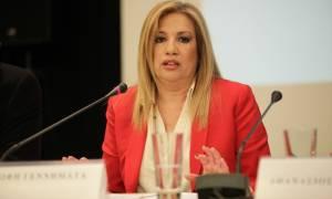 Γεννηματά: Η κυβέρνηση ΣΥΡΙΖΑ - ΑΝΕΛ γκρεμίζει ότι έχει μείνει όρθιο στο χώρο της υγείας
