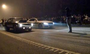 Συγκλονιστικό βίντεο: Κόντρες θανάτου στο Ελληνικό
