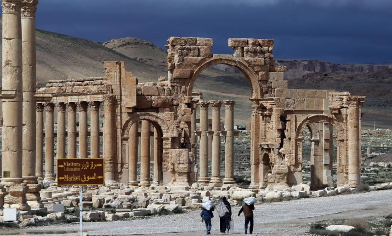 Unesco: Ο αρχαιολογικός χώρος της Παλμύρας «διατηρείται σε μεγάλο βαθμό ακέραιος» (pics)