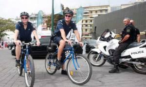 Ναύπλιο: Αστυνομικές περιπολίες με ποδήλατα