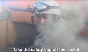 Συγκλονιστικό βίντεο: Τζιχαντιστής καταγράφει το θάνατό του σε μάχη με τους Κούρδους