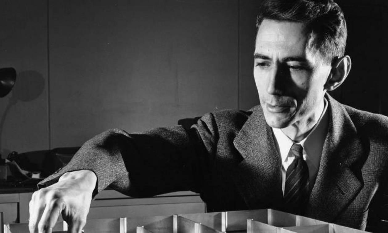 Claude Shannon: Το doodle της Google για τον «πατέρα της θεωρίας πληροφορίας»