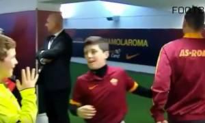 Οι αντιδράσεις των παιδιών, όταν αντικρίζουν τα ποδοσφαιρικά τους είδωλα (video)