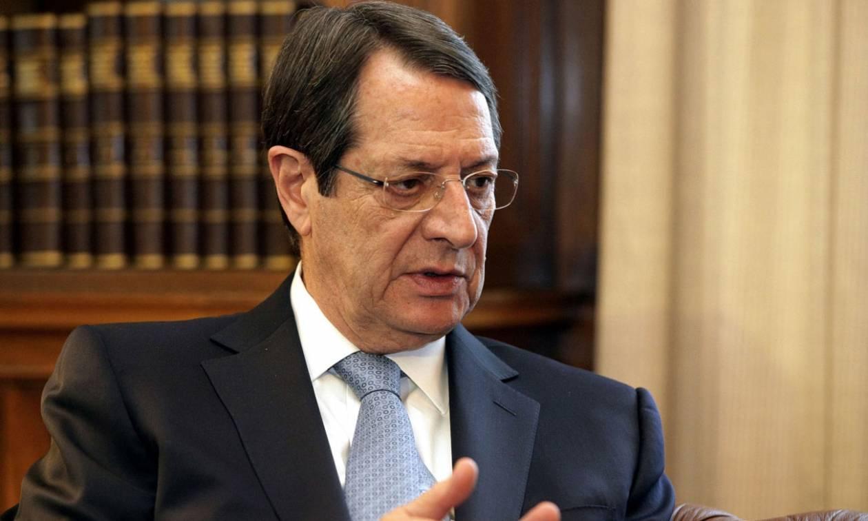 Αναστασιάδης: Το 2016 να είναι ο τελευταίος χρόνος «Γολγοθάς» για την Κύπρο