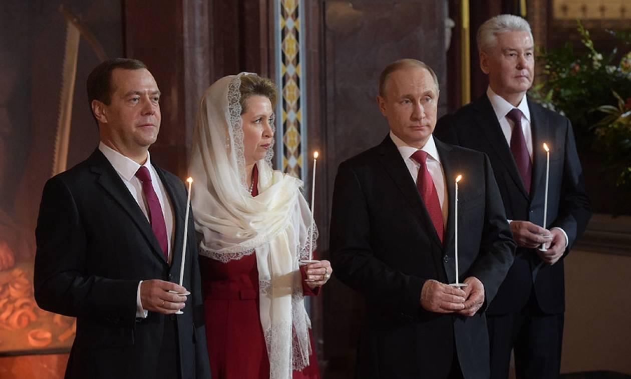 Εκατομμύρια Ρώσοι ορθόδοξοι γιόρτασαν το Πάσχα