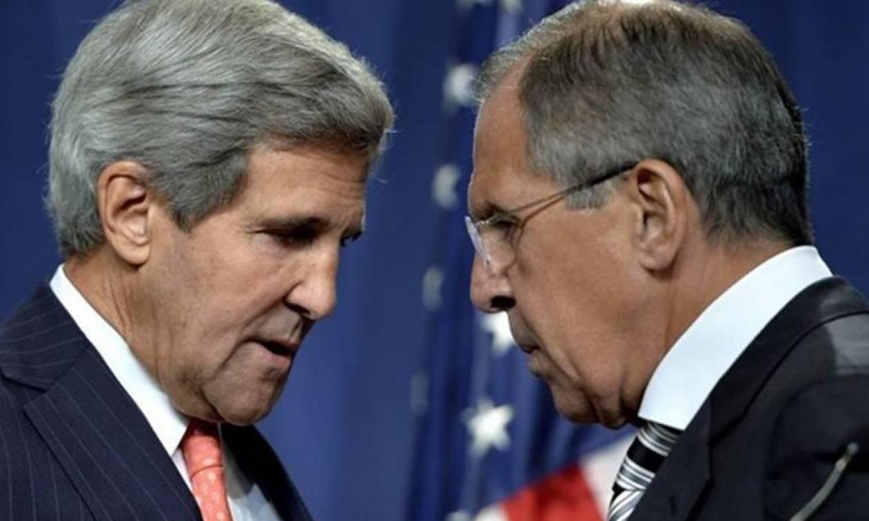 Τηλεφωνική επικοινωνία Λαβρόφ - Κέρι για την κατάπαυση του πυρός στη Συρία
