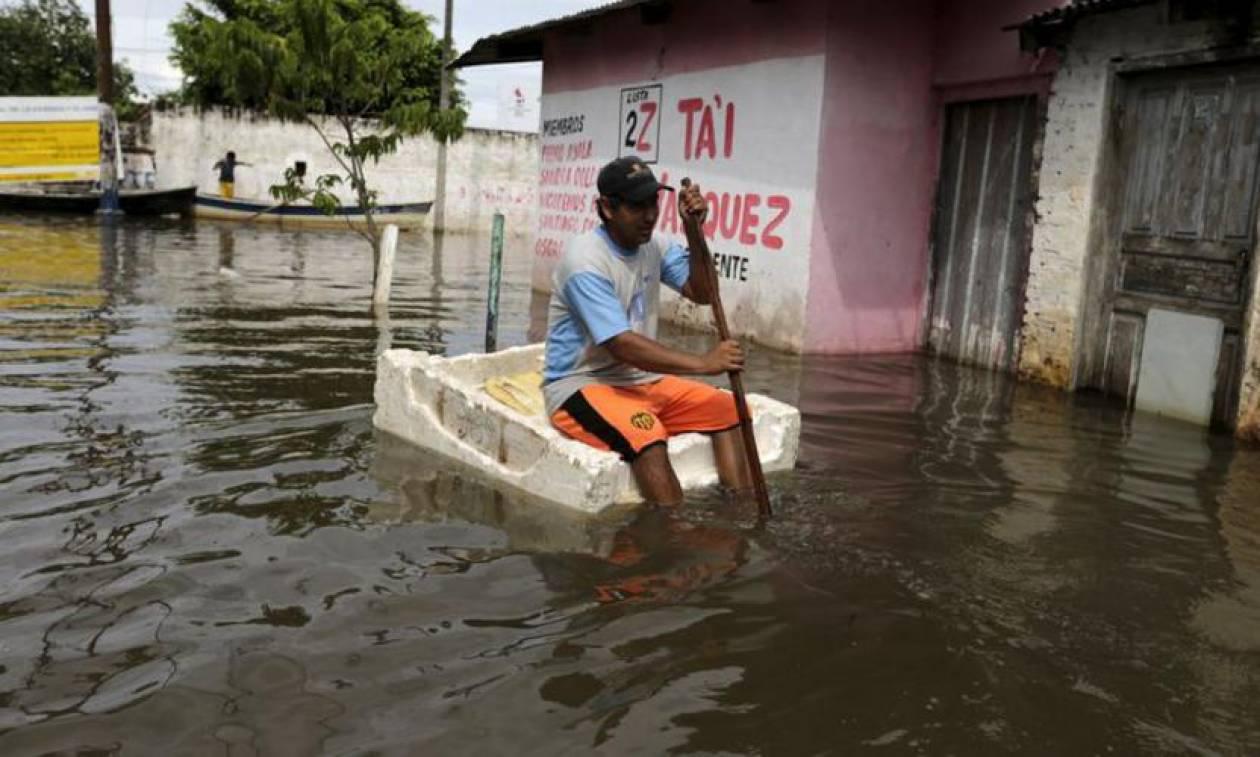 Αργεντινή: Πλημμύρες «κατάπιαν» τεράστιες καλλιεργήσιμες εκτάσεις