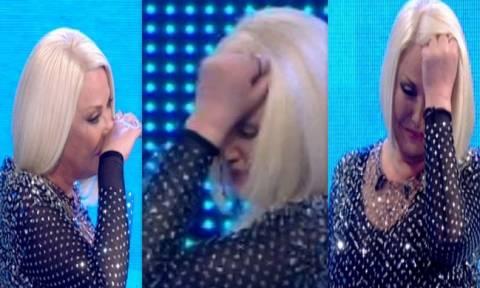 Ξέσπασε σε κλάματα on air η Κορομηλά όταν...