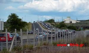 Πάσχα 2016: Ταλαιπωρία και ουρές χιλιομέτρων για τους οδηγούς στη Φθιώτιδα (pics)