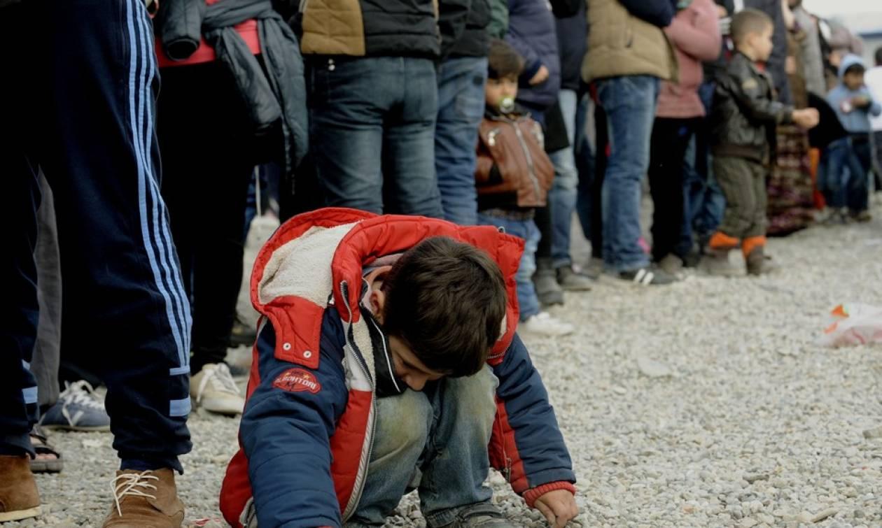Ειδομένη: Αντιμέτωποι με λάσπες και φίδια