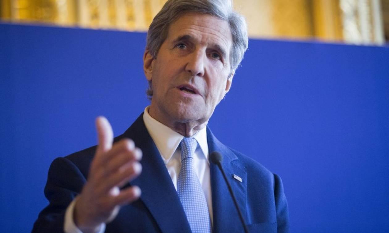 Ο Κέρι προειδοποιεί τον Άσαντ για τις «συνέπειες» αν δεν συμμορφωθεί με την εκεχειρία
