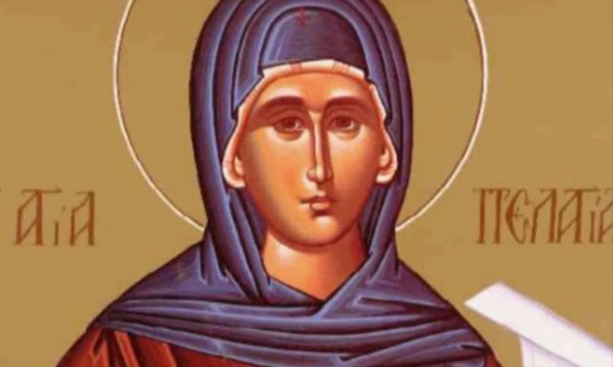 Αγία Πελαγία: Εορτάζει στις 4 Μαΐου