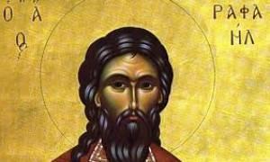Πλήθη πιστών στη λιτανεία των Αγίων Ραφαήλ, Νικολάου και Ειρήνης στη Λάρισα