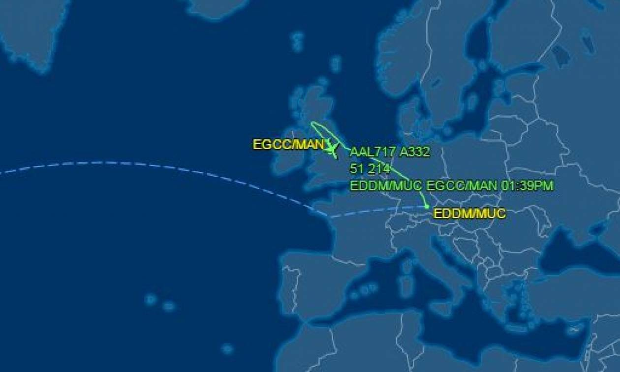 Συναγερμός σε πτήση της American Airlines - Προσγειώνεται εκτάκτως στο Μάντσεστερ