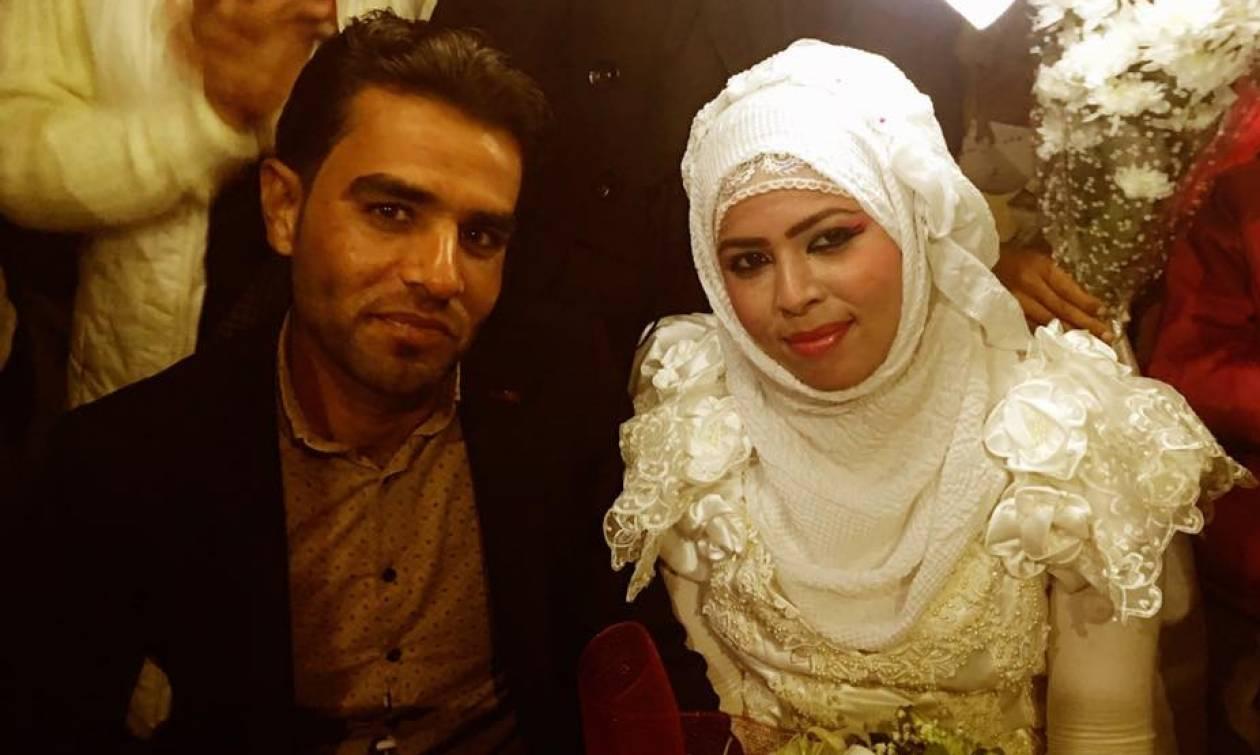 Σήμερα γάμος… έγινε στην Ειδομένη: Πρόσφυγες παντρεύτηκαν μέσα σε σκηνή! (video+photos)