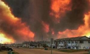 Καναδάς: Ανεξέλεγκτη φωτιά απειλεί να κάψει μια ολόκληρη πόλη