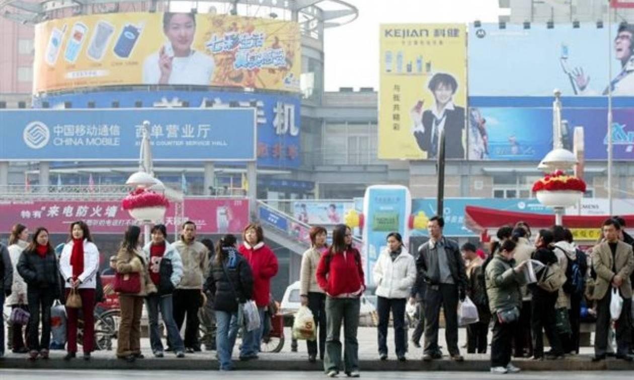 Κίνα: Μείωση της επιχειρηματικής δραστηριότητας στις υπηρεσίες