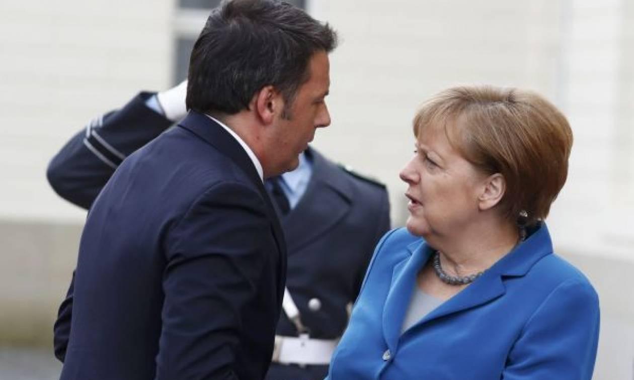 Μέρκελ για το προσφυγικό: «Δεν μπορούμε να εγκαταλείψουμε Ελλάδα και Ιταλία»