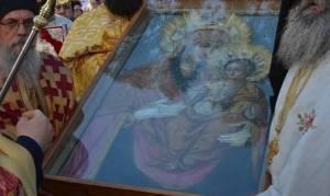 Στην Κύπρο η εικόνα της Παναγίας της Αγιοταφίτισσας