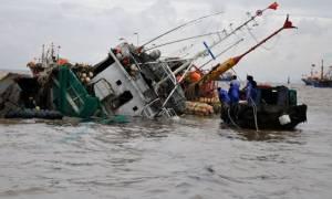 Κίνα: Δύο νεκροί μετά από σύγκρουση αλιευτικού με φορηγό πλοίο