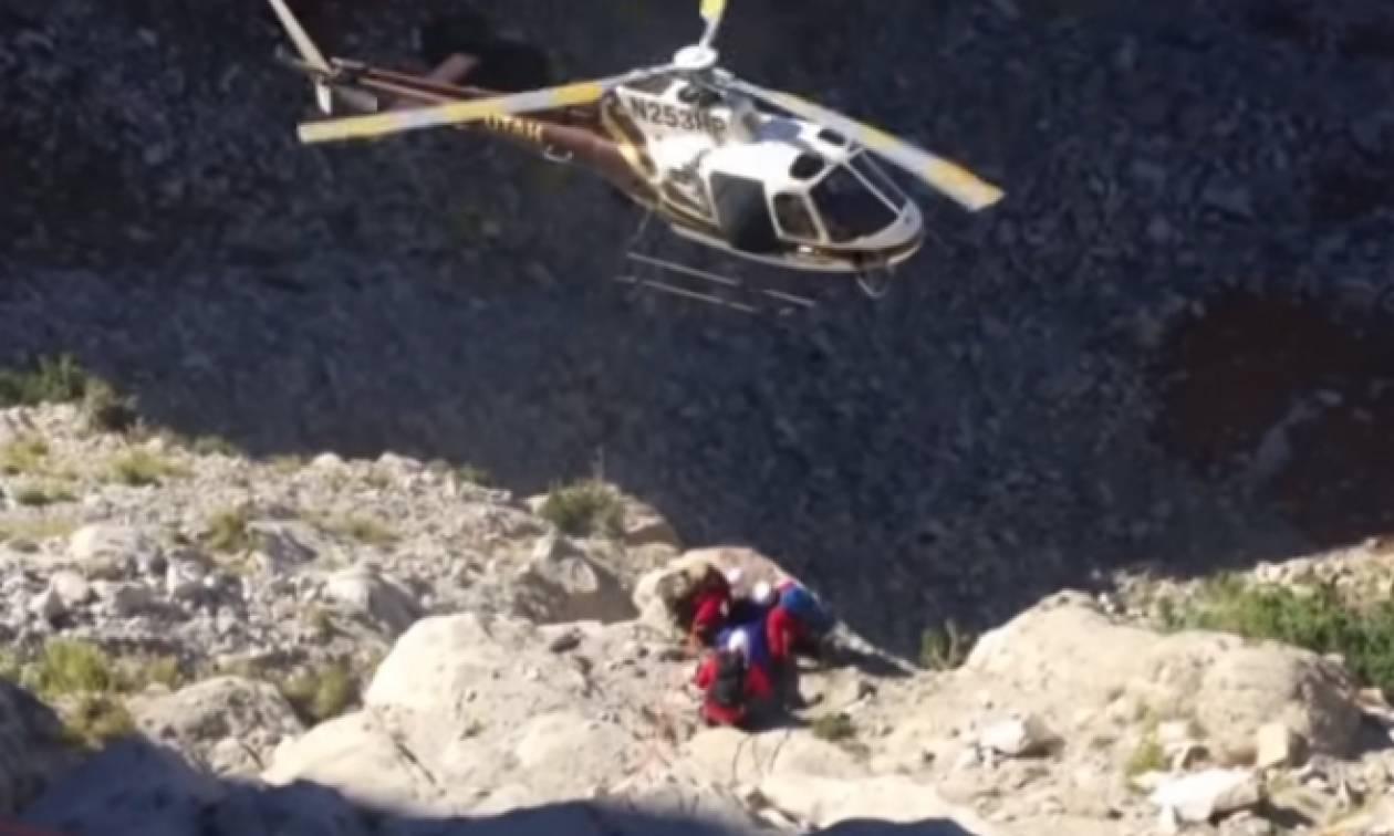 Συγκλονιστικό βίντεο: Κάμερα κατέγραψε παρολίγο συντριβή ελικοπτέρου