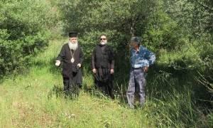 Ο Μητροπολίτης Φθιώτιδος στη Μακρακώμη για το Ναό του Αγ. Παΐσίου