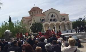 Λιτανεία στην Μονή Αγίου Γερασίμου Ομαλών