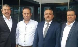 Συνάντηση προέδρου Συλλόγου Αλληλεγγύης Τούρκων Δ. Θράκης με δημάρχους μειονότητας