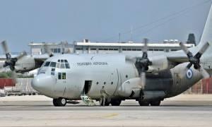 Ηράκλειο: Με C-130 μεταφέρεται στην Αθήνα τραυματίας αστυνομικός